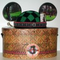 """Alice In Wonderland"" Mad Hatter Mickey Mouse Ears boxed"
