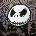"""""""Nightmare Before Christmas"""" Mickey Mouse Ears close-up"""