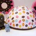 """Vinylmation Cutesters Too """"Donut"""" Mickey Mouse Ears set"""